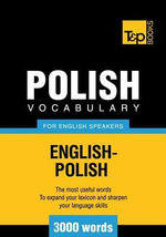T&p English-Polish Vocabulary 3000 Words - Andrey Taranov