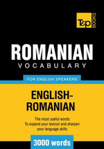 T&p English-Romanian Vocabulary 3000 Words - Andrey Taranov