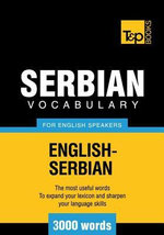 T&p English-Serbian Vocabulary 3000 Words - Andrey Taranov