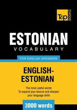 T&p English-Estonian Vocabulary 3000 Words - Andrey Taranov