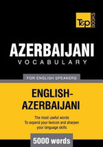 T&P English-Azerbaijani vocabulary 5000 words - Andrey Taranov