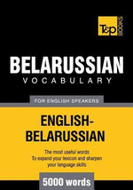 T&P English-Belarussian vocabulary 5000 words - Andrey Taranov