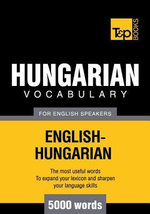 T&p English-Hungarian Vocabulary 5000 Words - Andrey Taranov