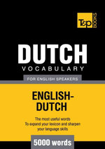 T&P English-Dutch vocabulary 5000 words - Andrey Taranov