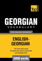 T&P English-Georgian vocabulary 5000 words - Andrey Taranov