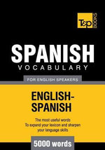 T&p English-Spanish Vocabulary 5000 Words - Andrey Taranov