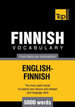 T&P English-Finnish vocabulary 5000 words - Andrey Taranov