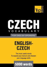 T&p English-Czech Vocabulary 5000 Words - Andrey Taranov