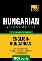 T&p English-Hungarian Vocabulary 7000 Words - Andrey Taranov