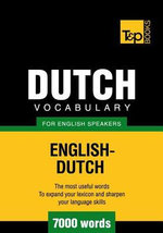 T&P English-Dutch vocabulary 7000 words - Andrey Taranov