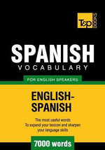 T&p English-Spanish Vocabulary 7000 Words - Andrey Taranov