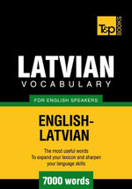 T&p English-Latvian Vocabulary 7000 Words - Andrey Taranov