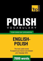 T&p English-Polish Vocabulary 7000 Words - Andrey Taranov