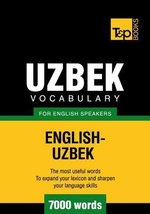 T&P English-Uzbek vocabulary 7000 words - Andrey Taranov