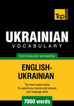 T&p English-Ukrainian Vocabulary 7000 Words - Andrey Taranov