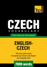 T&P English-Czech vocabulary 7000 words - Andrey Taranov