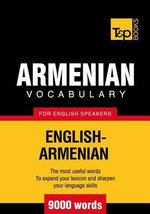 T&p English-Armenian Vocabulary 9000 Words - Andrey Taranov