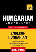 T&p English-Hungarian Vocabulary 9000 Words - Andrey Taranov