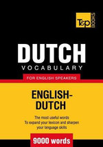 T&p English-Dutch Vocabulary 9000 Words - Andrey Taranov