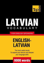 T&p English-Latvian Vocabulary 9000 Words - Andrey Taranov