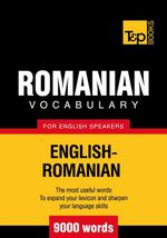 T&p English-Romanian Vocabulary 9000 Words - Andrey Taranov