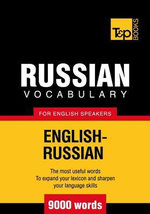 T&p English-Russian Vocabulary 9000 Words - Andrey Taranov