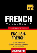 T&p English-French Vocabulary 9000 Words - Andrey Taranov