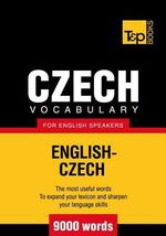 T&p English-Czech Vocabulary 9000 Words - Andrey Taranov