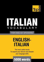 T&p English-Italian Vocabulary 3000 Words - Andrey Taranov