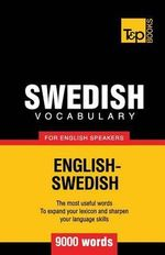 Swedish Vocabulary for English Speakers - 9000 Words - Andrey Taranov