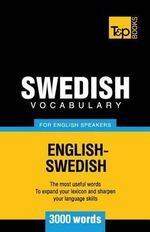 Swedish Vocabulary for English Speakers - 3000 Words - Andrey Taranov