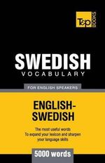 Swedish Vocabulary for English Speakers - 5000 Words - Andrey Taranov