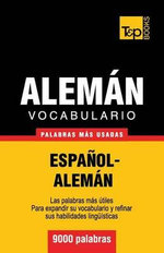 Vocabulario Espanol-Aleman - 9000 Palabras Mas Usadas - Andrey Taranov