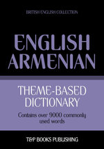 Theme-based dictionary British English-Armenian - 9000 words - Andrey Taranov