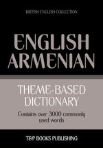 Theme-based dictionary British English-Armenian - 3000 words - Andrey Taranov