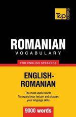 Romanian Vocabulary for English Speakers - 9000 Words - Andrey Taranov