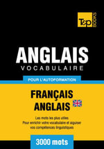 Vocabulaire Francais-Anglais-Br Pour L'Autoformation - 3000 Mots - Andrey Taranov