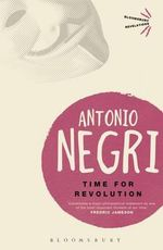 Time for Revolution - Antonio Negri