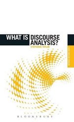 What is Discourse Analysis? : History, Identity and Memory in Contemporary Kenya - Stephanie Taylor