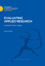 Evaluating Applied Research : Lessons from Japan - Bloomsbury Publishing