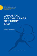 Japan and the Challenge of Europe 1992 - Kenjiro Ishikawa