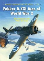 Fokker D.XXI Aces of World War 2 - Kari Stenman