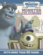 Disney Monsters University Colouring Book