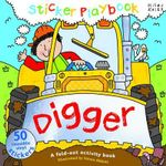 Digger : Sticker Playbook - A Fold-Out Activity Book