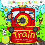 Train : Sticker Playbook - A Fold-Out Activity Book