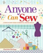 Anyone Can Sew - Charlotte Gerlings