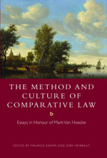 The Method and Culture of Comparative Law : Essays in Honour of Mark Van Hoecke