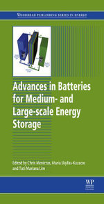 Advances in Batteries for Medium and Large-Scale Energy Storage : Types and Applications