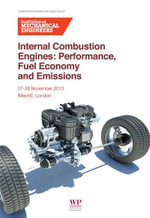 Internal Combustion Engines : Performance, Fuel Economy and Emissions