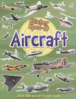 Aircraft : Sticker Spot-It - Over 100 aircraft to spot inside!